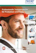 Professionelle Transportgeräte für Produktion und Praxis Muldenkipper, Kippbehälter und Späne Kipp-Behälter.